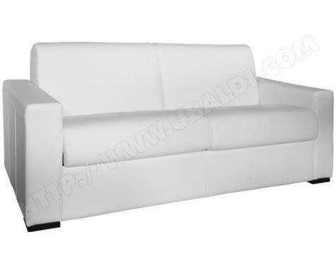canapé convertible cuir blanc photos canapé convertible cuir blanc