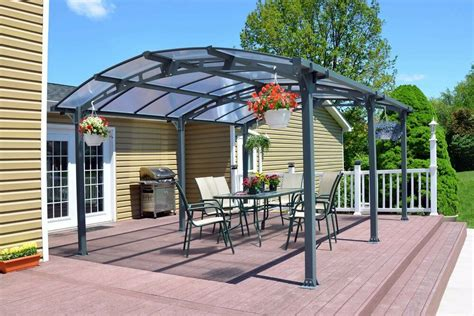 metal canopy carport pergola garage vehicle shelter gazebo car port patio cover ebay