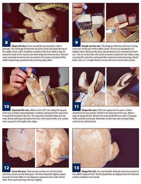 carving rabbit wood carving patterns woodarchivist