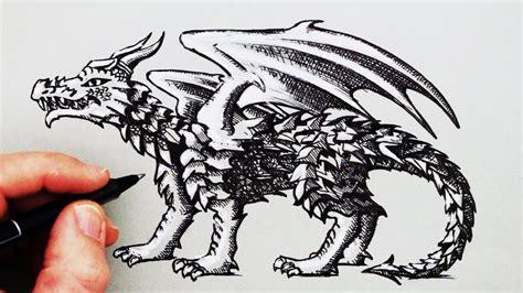 draw  dragon youtube