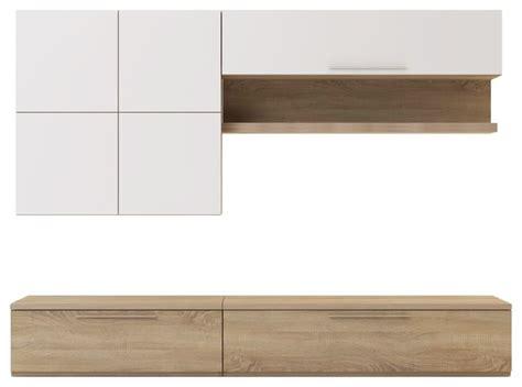 comment decorer sa cuisine isola tv meuble tv avec éléments muraux et banc