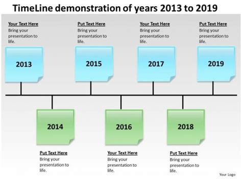 product roadmap timeline timeline demonstration  years