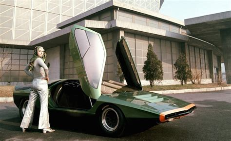 Alfa Romeo's Stunning 1968 Carabo Concept Ushered in the ...