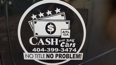Cash For Junk Cars With Or Without Titles 404-399-3474