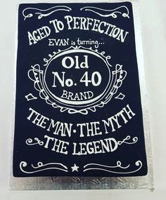 aged  perfection jack daniels birthday cake muellers