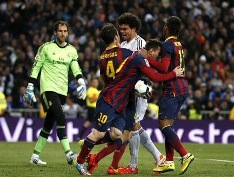 Lionel Messi Real Madrid Celebration