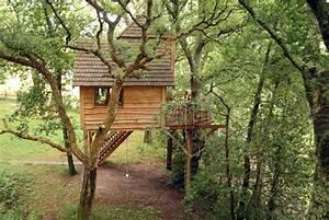 Cabane En Bois : construire une cabane en bois dans les arbres de son ~ Premium-room.com Idées de Décoration