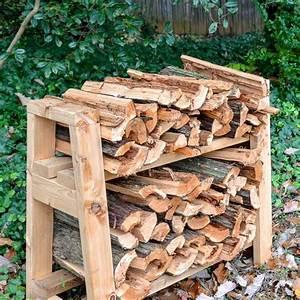 Free, Firewood, Rack, Plans, For, Storage