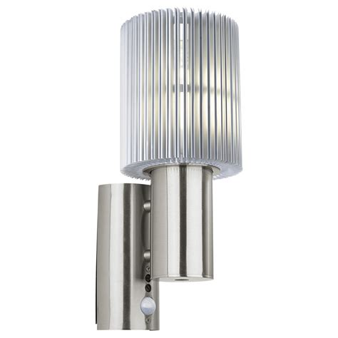 eglo maronello 89573 outdoor wall light with pir