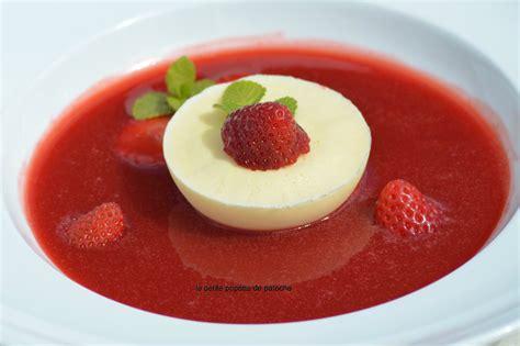soupe de fraises glace yaourt du chef nicolas le bec au thermomix la popotte de patoche