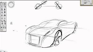Basic perspective car sketch tutorial YouTube