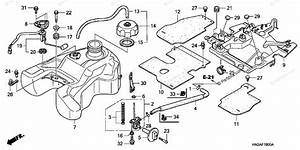 Honda Atv 2007 Oem Parts Diagram For Fuel Tank