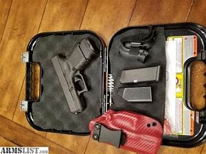 ARMSLIST - For Sale: Glock 26 Gen 4 with kydex holster