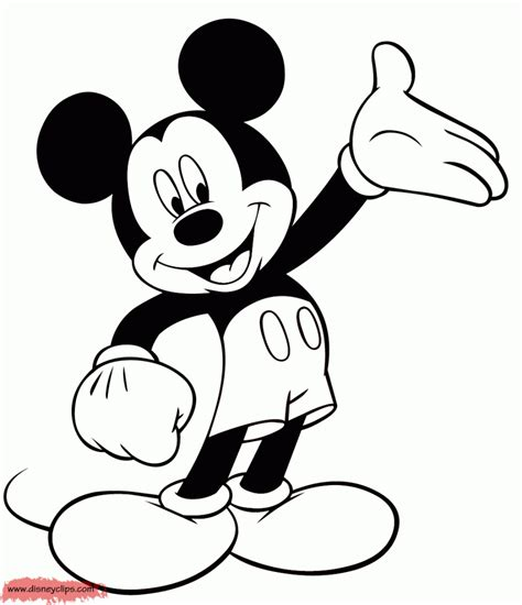 disney mickey  minnie heads coloring pages coloring home
