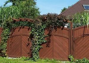 Sichtschutzelemente Aus Holz : sichtschutzelemente holz mit bogen f r den garten ~ Sanjose-hotels-ca.com Haus und Dekorationen