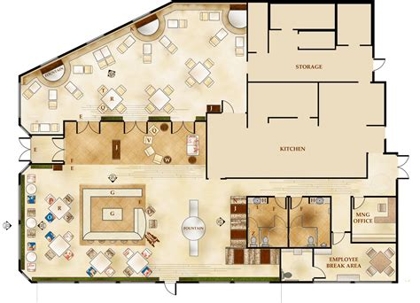 plan cuisine restaurant restaurant floor plans architecture