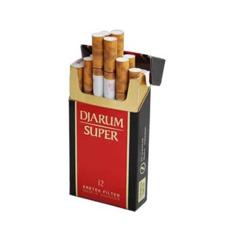 Djarum Super 12 Cigarettes • CloveCigs.com