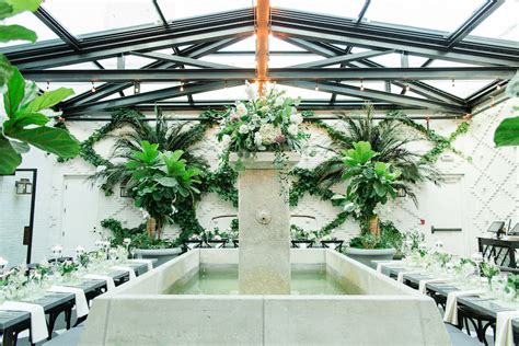 indoor south tampa garden wedding oxford exchange