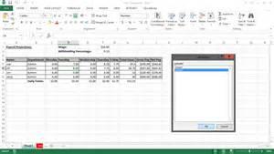 Microsoft Excel 2013 Worksheets