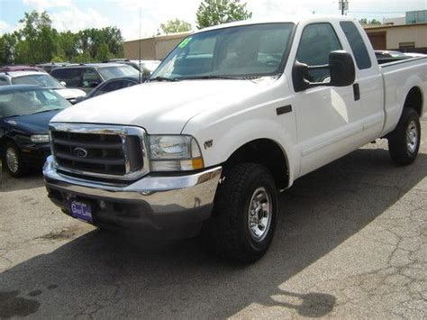 how does cars work 2003 ford f250 spare parts catalogs sell used 2003 ford f 250 super duty xlt ext cab 4x4 pickup 4 door 6 8l v10 in cleveland ohio
