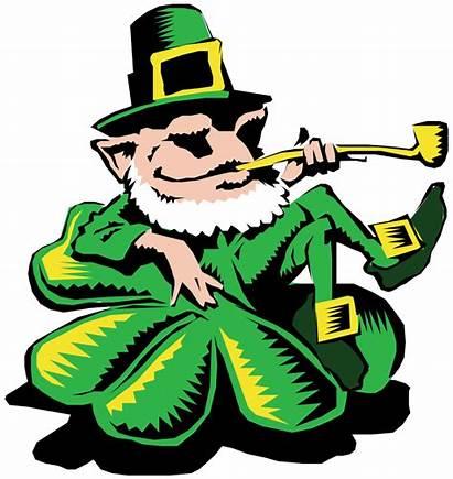 Leprechaun Clipart Clover Clip Transparent Saint Patrick