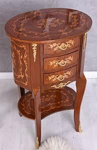 Table De Nuit Baroque : console de nuit baroque commode ovale table chevet ancien ~ Teatrodelosmanantiales.com Idées de Décoration