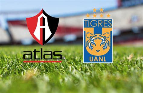 Tigres de NL contra el Atlas de Guadalajara en el H-E-B ...
