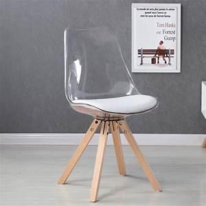But Chaise Transparente : chaise transparente polycarbonate achat vente chaise ~ Teatrodelosmanantiales.com Idées de Décoration