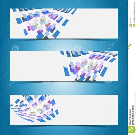 Elegant Banner Design Template Royalty Free Stock Photography - Image 35006287