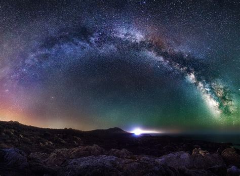 Starry Night Sky Wallpaper 8 Crucial Camera Settings For Night Sky Landscape Photography