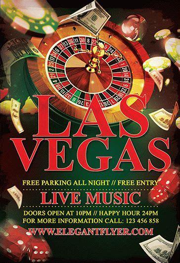 casino night  flyer psd template  elegantflyer