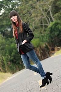 Look-con-jeans-y-blazer-negro - Blog de Moda Costa Rica - Fashion Blog