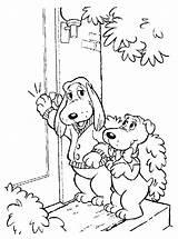 Coloring 1980s Pound Puppies Kleurplaat Kleurplaten Dog Printable Getcolorings Colouring sketch template