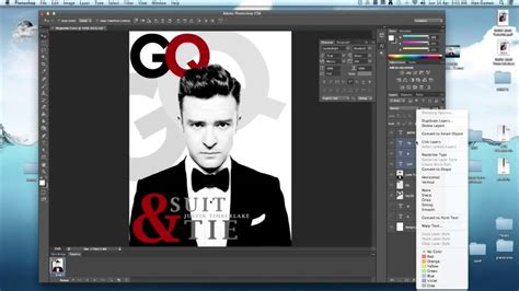 photoshop tutorial magazine cover  indesign youtube