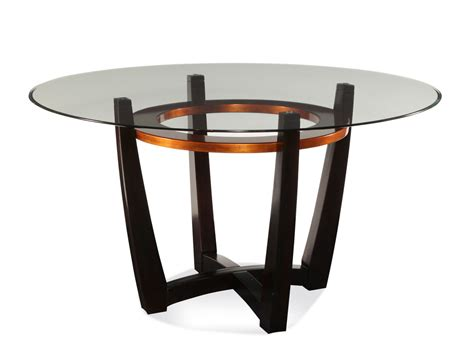 Copper Dining Room Tables Round Glass Top Table Round
