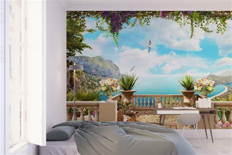 trompe l oeil cuisine trompe l 39 oeil wallpaper moonwallstickers com