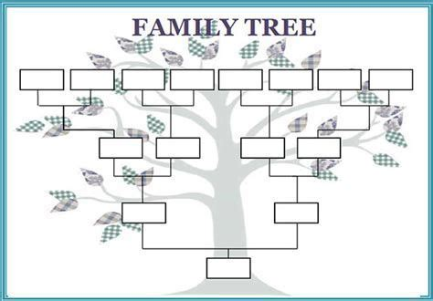 image result   printable family tree template