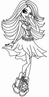 Coloring Pages Hair Monster Spectra Flamenco Dancer Vondergeist Colouring Printable Sheets Cool Hold Para Books Colorear Dibujos Desenhos Getcolorings Imprimir sketch template