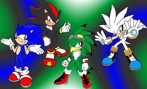 Sonic Shadow Jet and Silver RQ by Mephilez on DeviantArt