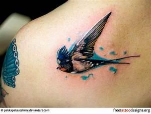 realistic-swallow-tattoo.jpg (700×526) | Skin Art ...