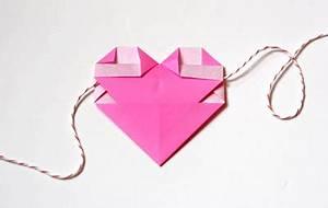Origami Fleur Coeur D étoile : origami coeur lillibulle ~ Melissatoandfro.com Idées de Décoration