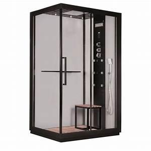 Cabine De Douche 90x120 : gelco cabine de douche int grale black hydromassante ~ Edinachiropracticcenter.com Idées de Décoration