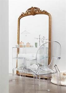 Grand Miroir Vintage : pourquoi choisir la chaise design transparente ~ Teatrodelosmanantiales.com Idées de Décoration