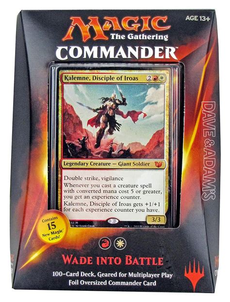 precon commander decks 2015 magic the gathering commander deck box 2015 da card world