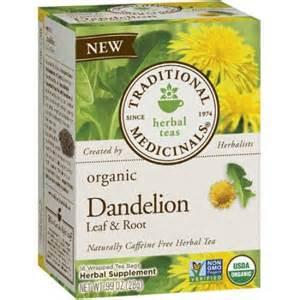 Traditional Medicinals Dandelion leaf & root 16 tea bags