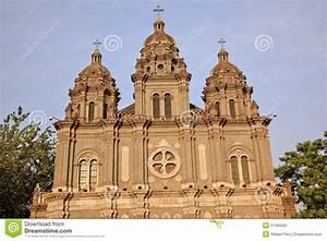 St. Joseph Wangfujing Cathedral Beijing China Stock Photo ...