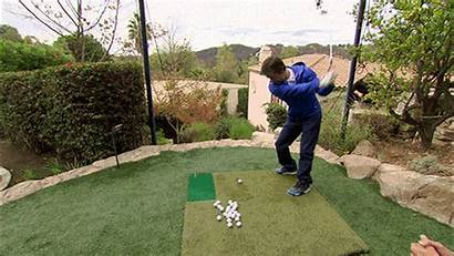 Mark Wahlberg Wahlburgers Golf Swing Gifs Putting