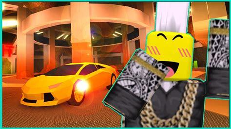 Secret Criminal Base With A Super Car (roblox Jailbreak