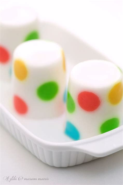 masam manis dessert polka dot milk agar agar faire avec mon rack 224 gla 231 ons en silicone food