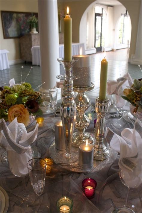 Dining Room Centerpiece Ideas Candles by Candle Centerpiece Eclectic Dining Room New York